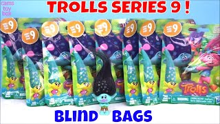 Dreamworks TROLLS Series 9 Blind Bags Opening Surprises TOYS Review