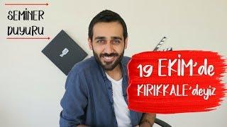 19 Ekim'de Kırıkkale'deyiz |