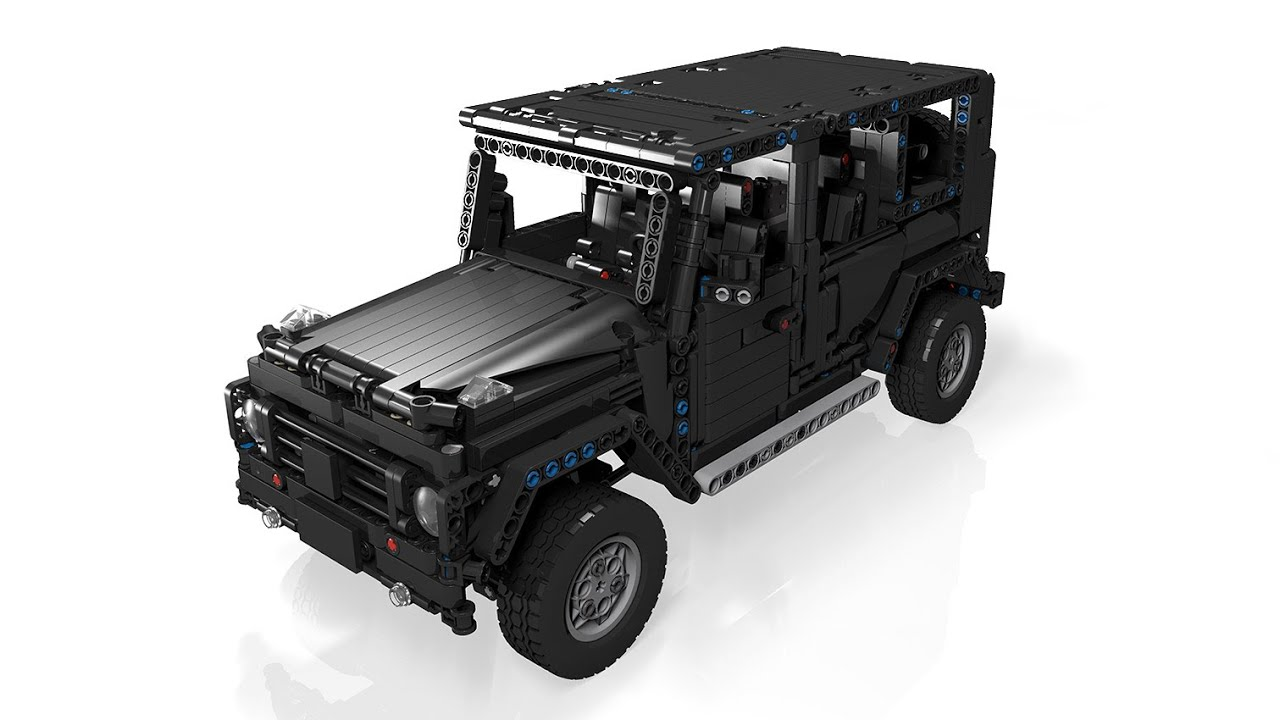 moc lego technic g500 awd wagon youtube. Black Bedroom Furniture Sets. Home Design Ideas