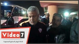 محمد حلمى يغادر بتروسبورت غاضبا عقب معرفته بقرار الإقالة من الزمالك
