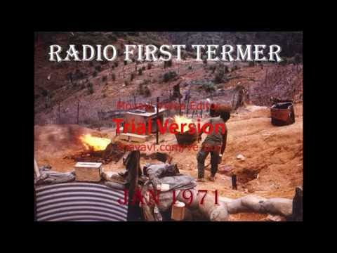 RADIO FIRST TERMER Dave Rabbit Vietnam Radio Part 1/4