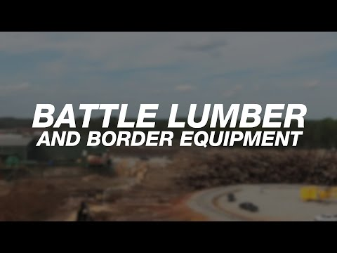 North America: Border Equipment And Battle Lumber