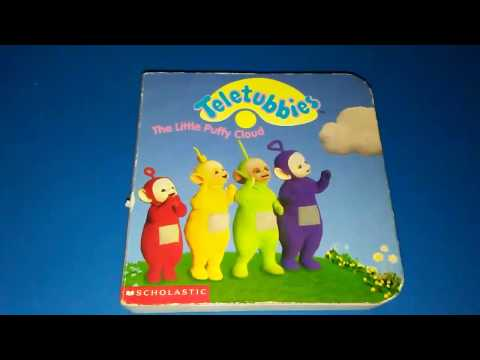 TELETUBBIES The Little Puffy Cloud read along story book
