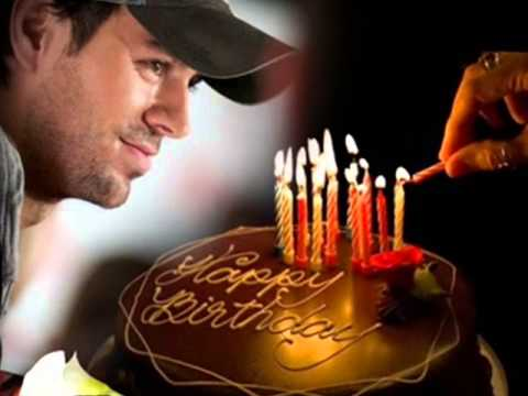Enrique Iglesias Birthday Cake