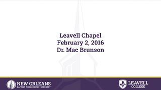 1 Samuel 19 | Dr. Mac Brunson | 02-02-2016