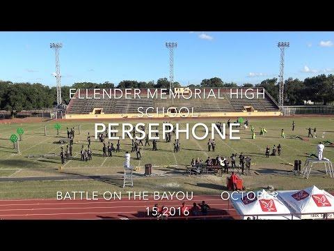 Ellender Memorial High School...Persephone...10-15-2016