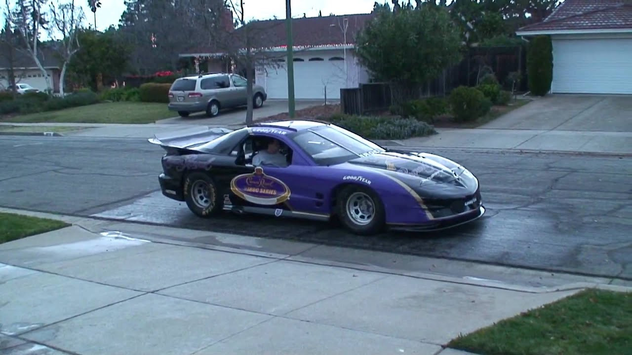 Crown Royal IROC Trans Am Race Car 2009 - YouTube