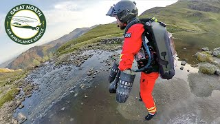 Jet Suit Paramedic Mountain Trial