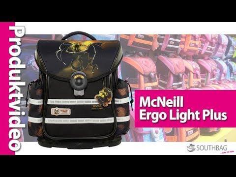 1c49a7acc1275 McNeill Schulranzen Ergo Light Plus - Produktvideo - YouTube