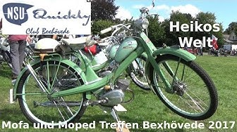 Mofa und Moped Treffen 2017 NSU Quickly Club Bexhövede
