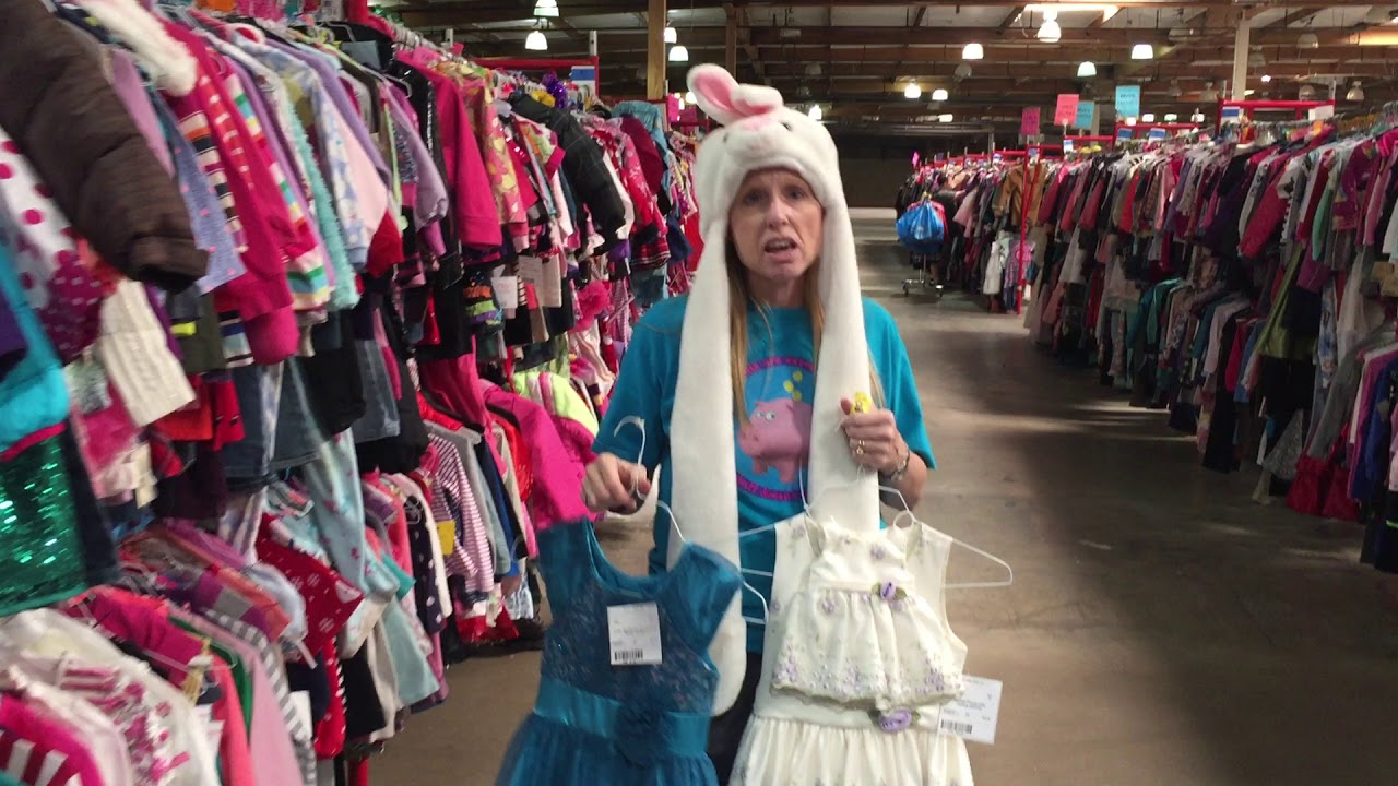 d2ec0db14d1 finding bargains at the LA Kids Consignment sale fall 2017 - YouTube