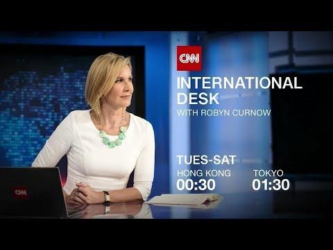 "CNN International: ""International Desk"" promo"