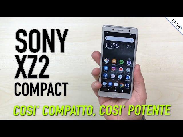 Sony XZ2 Compact - Compatto ma con Tanta Potenza - RECENSIONE