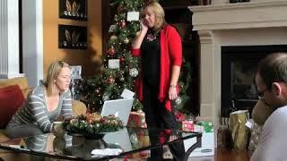 Son Surprises Mom for Christmas - Priceless Reaction! (Short)