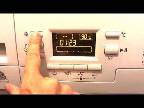Programare masina de spalat, utilizare ARCTIC Arctic AFD 7001A Beko, selectare program,