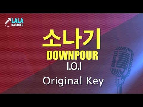아이오아이 _ 소나기 (I.O.I - Downpour) / LaLa Karaoke 노래방