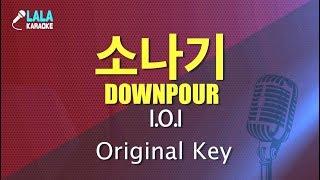 Gambar cover 아이오아이 _ 소나기 (I.O.I - Downpour) / LaLa Karaoke 노래방