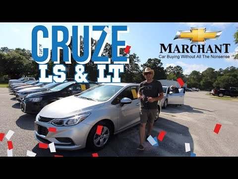 Here's the 2018 Chevrolet Cruze LS & LT - In Depth Review @ Marchant Chevrolet | Start Up & Tour