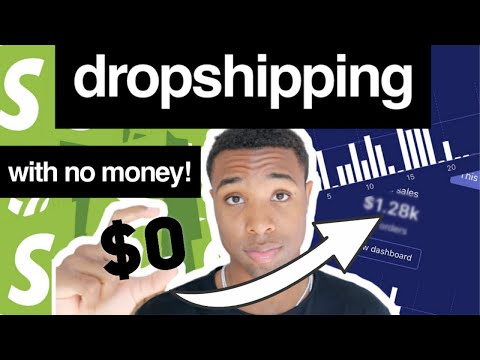 How To Start Shopify Dropshipping With NO MONEY From Scratch in 2020 thumbnail