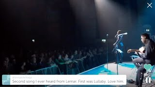 Lemar If There S Any Justice LIVE Periscope Stream At Cambridge Corn Exchange