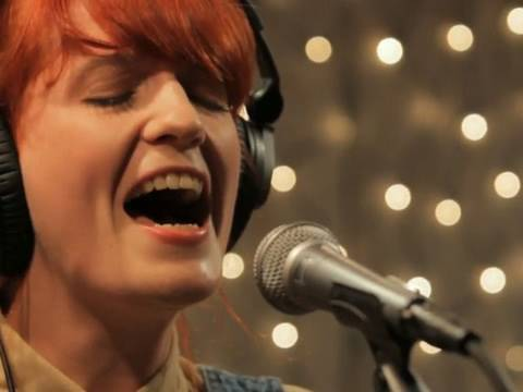 Florence and the Machine - Kiss With A Fist (Live on KEXP)