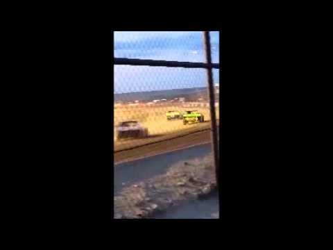 Casper Speedway B mod Main 8-8-14