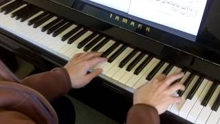 ABRSM Piano 2013-2014 Grade 6 A:4 A4 Arne Presto Sonata No.7 in A Mvt 1 Performance