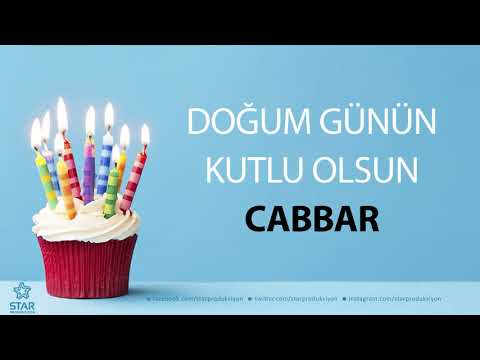 İyi ki Doğdun CABBAR - İsme Özel Doğum Günü Şarkısı