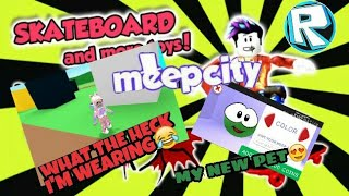 ROBLOX GAME:MeepCity (first game vid)