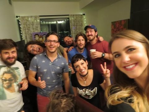 Podcast Party! (Recording & Behind the Scenes) | VLOG