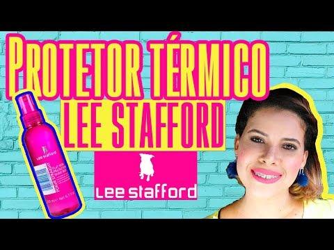 Protetor Térmico Lee Stafford STRAiGHT FLaT IRON PRoTeCTION SHiNE MiST, Resenha.