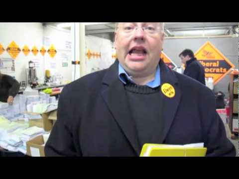 Chris Rennard volunteering in Oldham East & Saddleworth
