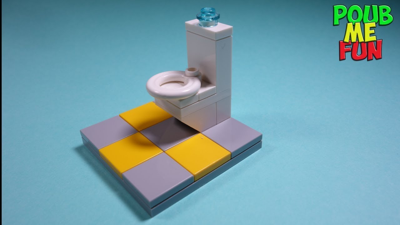 Lego How To Build A Toilet 1 Easy Instructions
