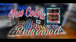 NEW COLORS REVIEW- BLING IT!!