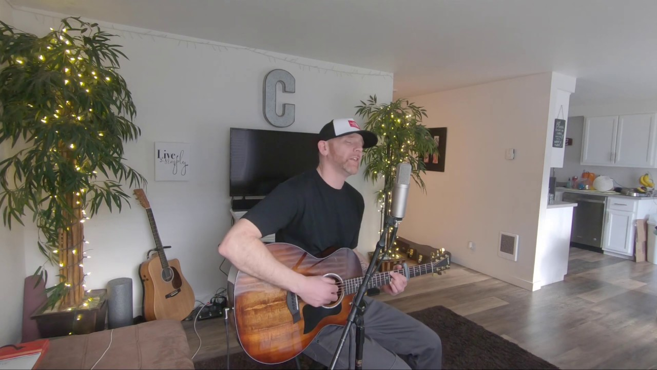 Luke Combs Better Together (cover by derek cate) Acoustic
