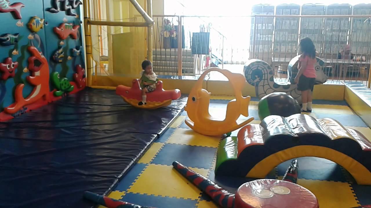 Putriku Bermain Di Permainan Anak Di Mall Grand Swiss Belhotel Medan