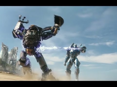 Pacific Rim 2: Uprising |  Small Jaeger Chase Scene [HD] streaming vf