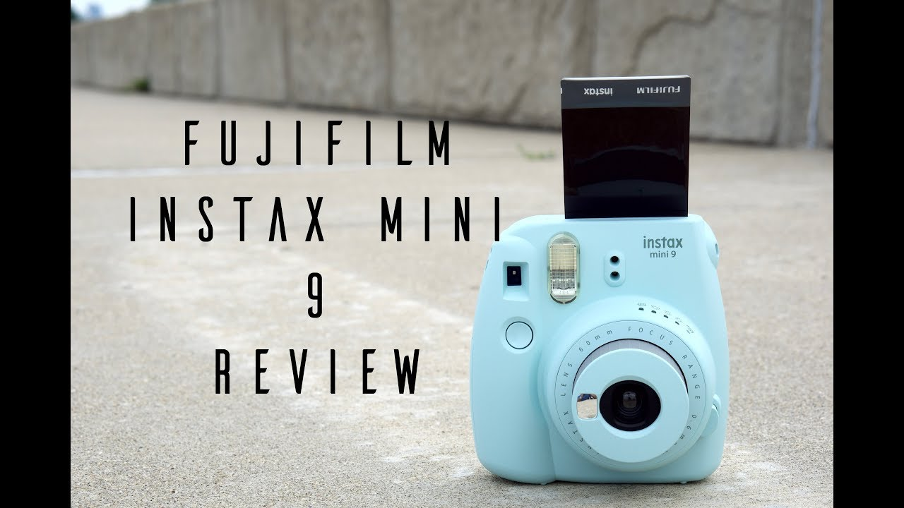 Fujifilm instax mini 9 hands on review youtube for Housse instax mini 9