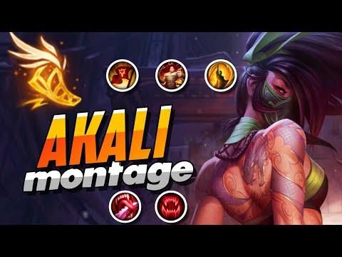 AKALI MONTAGE | BEST AKALI PLAYS S9 | INSANE OUTPLAYED