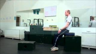 Improve Vertical Jump Off One Leg With Center Of Mass Planting Drills