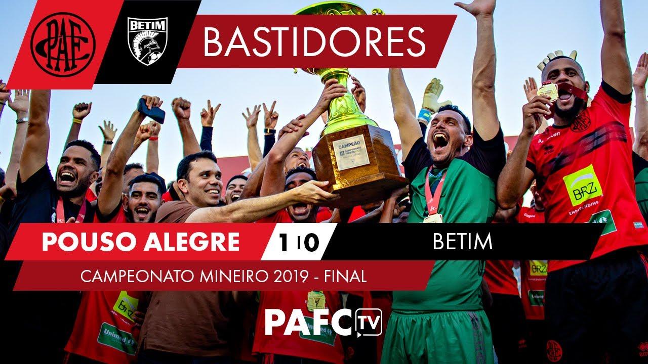 📹⚽️🔴⚫️🏆 | POUSO ALEGRE 1 x 0 BETIM | BASTIDORES