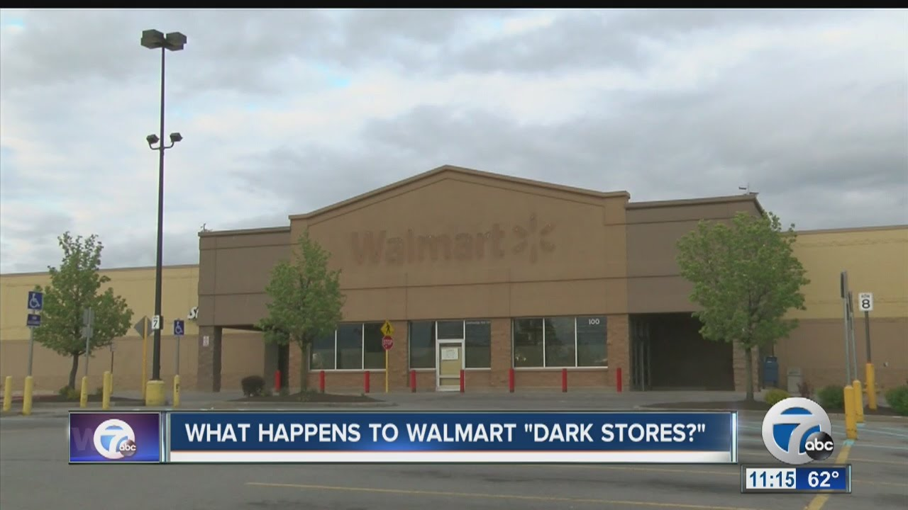 What Happens To Walmart Dark Stores Youtube