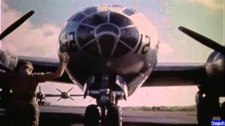 WWII Pacific in Color Air Combat Gun Camera Archive Footage