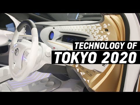 Technology of Tokyo 2020 | From Robots to Driverless Cars (LQ, e-Palette, APM)