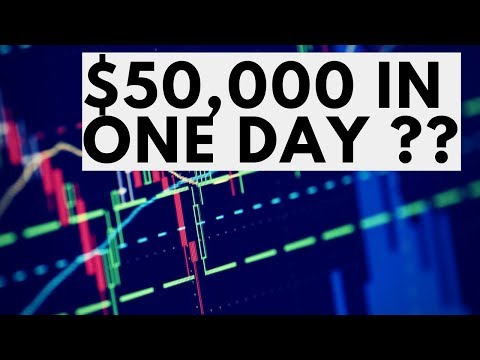 Crazy Live Trading | How To Make Over $50,000 In One Day Trading Forex