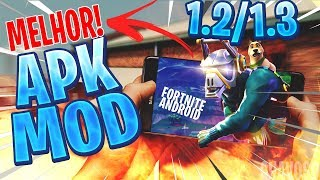 SAIUU 😱 FORTNITE MOBILE MODIFIED FOR ANDROID PHONES-DOWNLOAD FORTNITE APK MOD