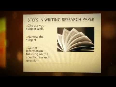 How to Research a Paper in    Steps