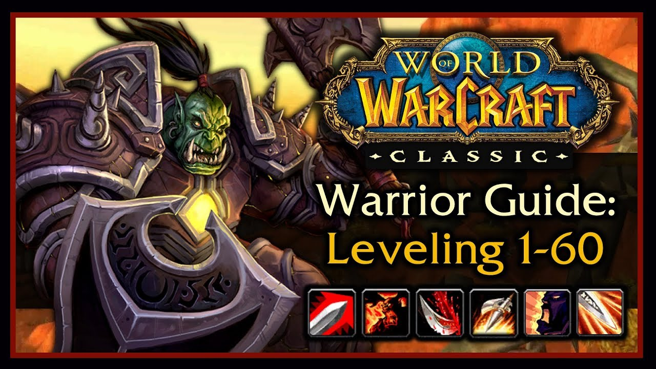 Classic WoW: Warrior Leveling Guide 2 0 (Talents, Weapon Progression,  Rotation, Tips & Tricks)