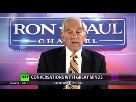 Conversations w/ Great Minds - Rep. Ron Paul - Corporations are not People!