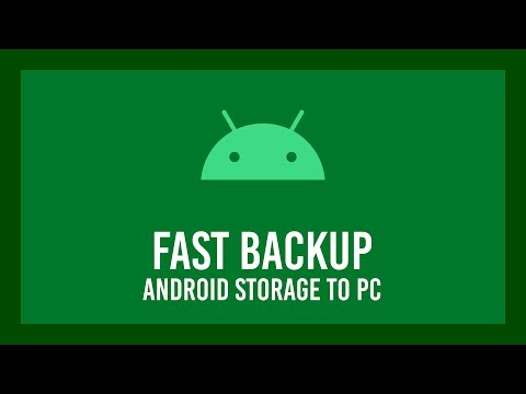 How To Quickly Copy ALL Data Off An Android Phone | BACKUP